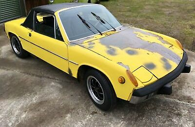 73 Porsche 914 1.7. Matching numbers USA Import. Complete & Original project car