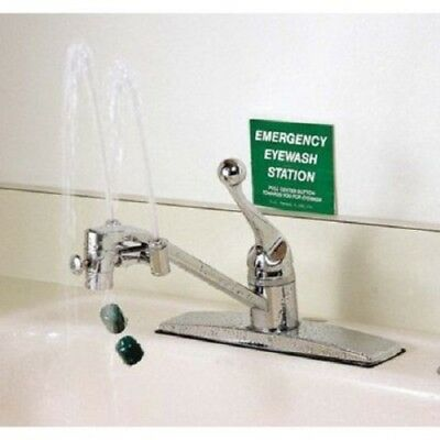 OPTI KLENS Faucet Mount Eyewash Station Eye Wash Fast Easy Installation USA Made