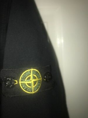 Boys Stone Island Soft Shell Black Jacket Age 14 Years Good Cond Cost £175 New!
