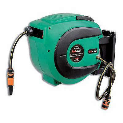 REELWORKS Water Hose Reel Heavy Duty Retractable with 1/2 in. x 50 ft.