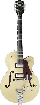 Gretsch G6118T-135 135th Anniversary, 2 Tone Casino Gold on Dark Cherry Metallic