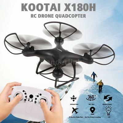 KOOTAI X180H 2.4G 4CH Drone 20 Minutes Flying Time RC Quadcopter Kids Gift F9I7