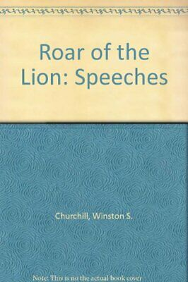 Roar of the Lion: Speeches by Churchill, Winston S. Paperback Book The Cheap