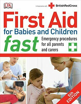 First Aid for Babies and Children Fast by DK Book The Cheap Fast Free Post