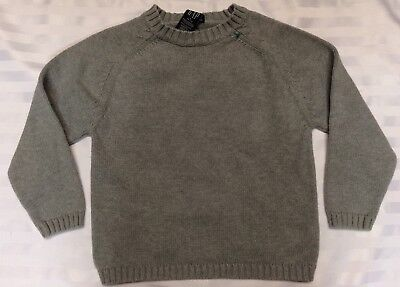 Gap Kids Grey Crew Neck Sweater size Small 5-6 Cotton