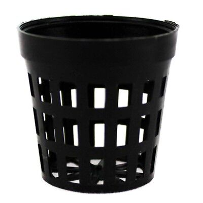 10PCS Planting Basket Plastic Round Aquatic Pot Baskets for Water Plant Aquarium