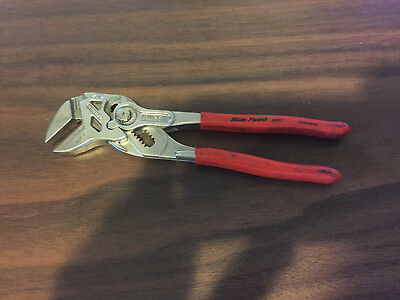 Used , Blue Point (Knipex) 7 In. Smooth  (Flat) Jaw   Pliers  , Part  #adp 7