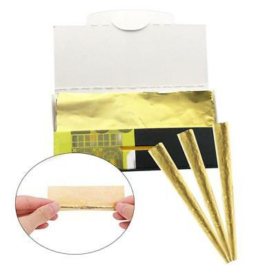 Classic Cones Mega Pack 10 sheets - 24K Gold King Cone Pre Rolled Papers Z2H1