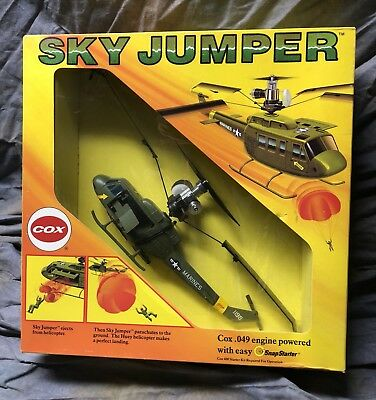 VINTAGE COX SKY Jumper Helicopter  049 New In Box Look !!