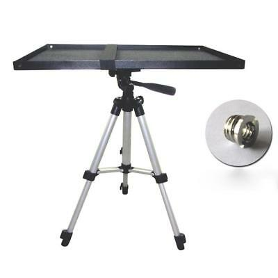 Laptop Notebook Projector Monitor Tray Holder for 1/4 Screw Tripod Stand UK