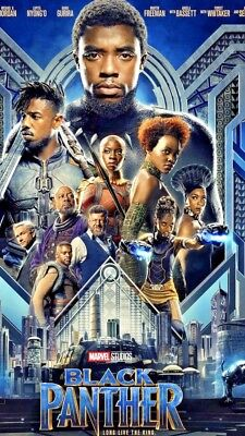 Black Panther DVD 2018 Action  Free Fast  Shipping 🚀