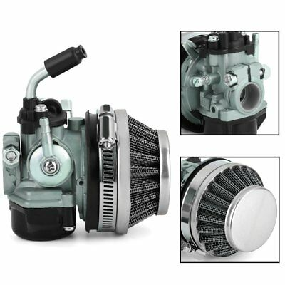 Mini Two-Stroke Engine Carburetor W/ Air Filter for Motorcycle Motorized WHIND
