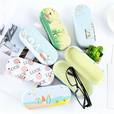 Proable Print Sunglasses Hard Eye Glasses Case Eyewear Protector Box Pouch Bag #