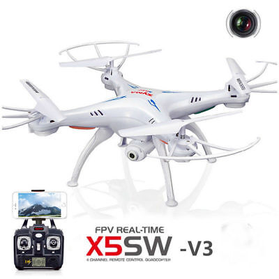 RC Drones with HD Camera Headless Quadcopter Syma X5SW-V3 Wifi Explorer 4CH 2.4G