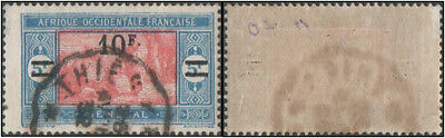 Senegal. 1922 Market Stamps of 1914 & 1922 Surcharged. 10/5 FR. Cancelled