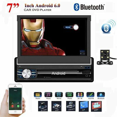 """Singolo 1 Din 7""""Android 6.0 In Dash Car Stereo GPS NAV Radio Lettore video 1080P"""