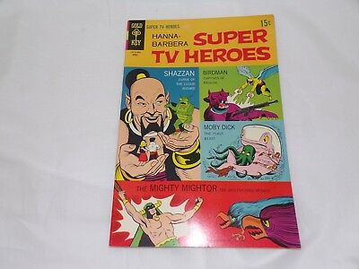 Hanna-Barbera Super TV Heroes Issue #5 Gold Key 1969 VERY NICE CONDITION RARE