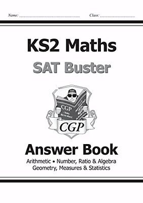 KS2 Maths SAT Buster: Answer Book 1 for tests i by CGP Books New Paperback Book