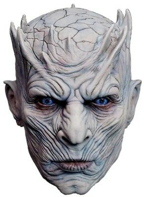 Adults Deluxe Night King Game Of Thrones Film Fancy Dress Costume Outfit Mask