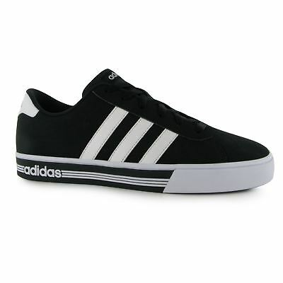 Adidas daily team nubuck black and white trainers in size 11 uk new in box 5bd8469f4