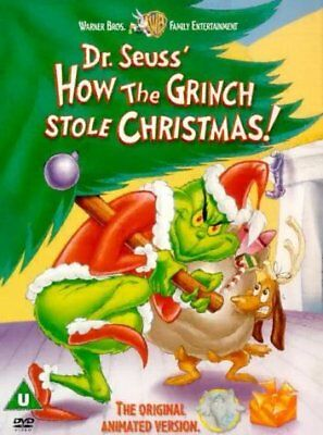 Dr Seuss How The Grinch Stole Christmas  with Boris Karloff New (DVD  2001)