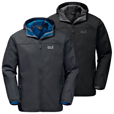 JACK WOLFSKIN MENS Northern Point Water Resistant Softshell