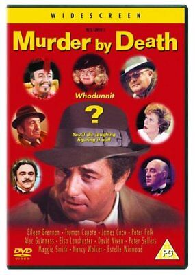 Murder By Death  with Peter Falk New (DVD  1997)