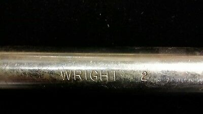 "Wright USA 2"" Combination Wrench, pn 986-1164 Excellent Used Cond."
