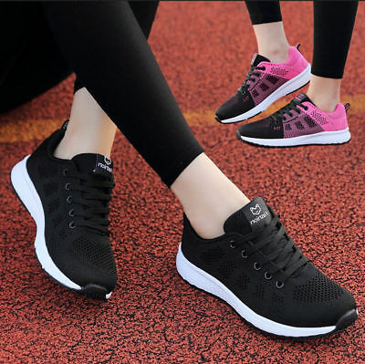 Women Running Sports Shoes Casual Sneakers Breathable Athletic Outdoor Trainning
