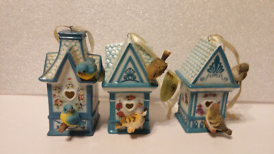 Bradford Editions Ornament - Home is Where The Heart Is Bird House Ornament