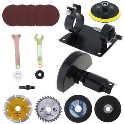 17pcs Electric Drill Cutting Seat Stand Conversion Tool Accessories for Grinding