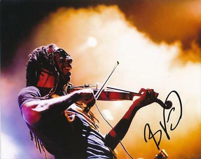Boyd Tinsley (DNB)- Color Signed Photograph