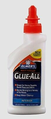 New 4oz Elmers GLUE ALL High Strength Adhesive Multi Purpose Dries Clear E3810