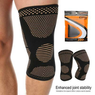Magnetic Knee Sleeve Compression Brace Support Sport Joint Arthritis pain Relief