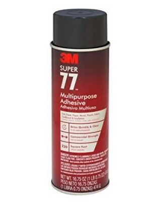 3M 77 Super Multipurpose Spray Adhesive (Case of 12) / Price is for 12 Can