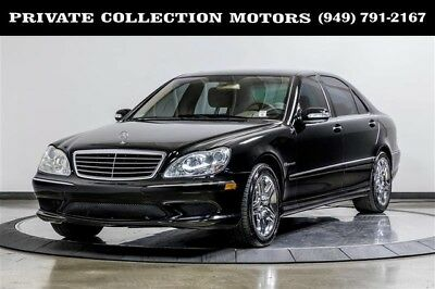 Mercedes-Benz S-Class  2004 Mercedes-Benz S55 AMG S-Class AMG 1 Owner Clean Carfax Low Miles
