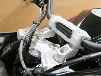 BMW G310R G310GS Handlebar Risers kit 40mm up and 40mm back