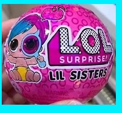 LOL SURPRISE Doll SERIES 4 LIL SISTERS WAVE 2 Eye Spy  🎀 Little Sister NEW