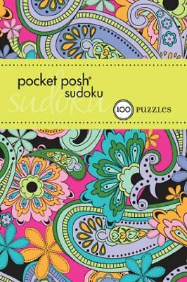 Pocket Posh Sudoku 19: 100 Puzzles by The Puzzle Society Book The Cheap Fast