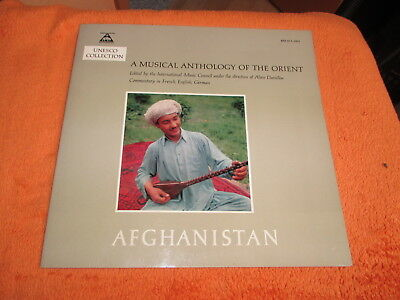 LP A Musical Anthology of the Orient, Afghanistan + Booklet , Unesco Collection