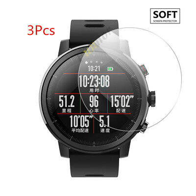 Tempered Glass Explosionproof Screen Protector  For Xiaomi Huami Amazfit Stratos