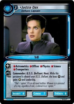 Star Trek CCG 2E Captain's Log Jadzia Dax, Defiant captain 10U67