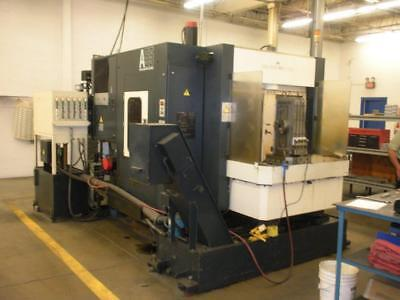 Makino A55 4-Axis Dual Pallet CNC Horizontal Machining Center