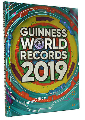 Guinness Book of World Records 2019 Annual Hardbacked Guiness Book RRP £20