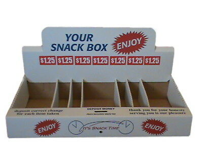 Single White Snack Box