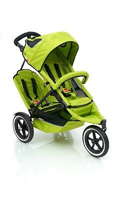 Phil and Teds replacement baby pram liner, or second seat NEW lime green