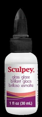 M00112 MOREZMORE Polyform Sculpey Air-Dry Polymer Clay Finish Glaze GLOSS