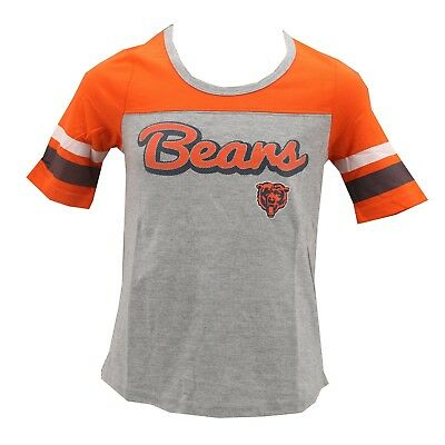 3381634a817fd3 Chicago Bears Official NFL Apparel Kids Youth Girls Size T-Shirt New with  Tags