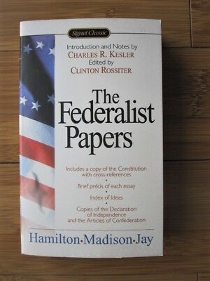 Federalist Papers by John Jay, James Madison & Alexander Hamilton 2003 Paperback
