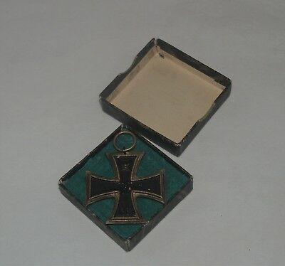 Antique Ww1 Imperial German Germany Iron Cross Medal Award Badge 1914